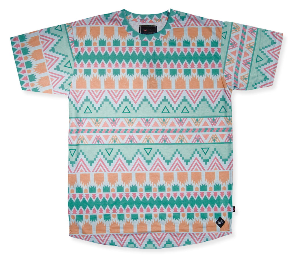 Vandal Collective - 'Aztec Life' [(Multi-Color) T-Shirt]