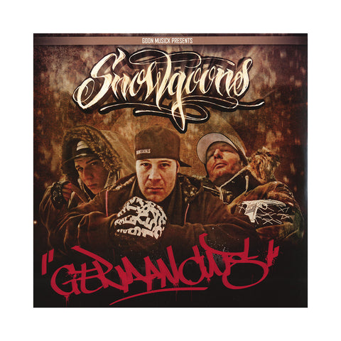 Snowgoons - 'German Cuts' [(Black) Vinyl LP]