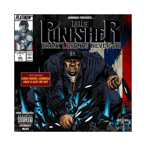 Big Punisher - 'Bronx Legends Never Die' [(Black) Vinyl LP]