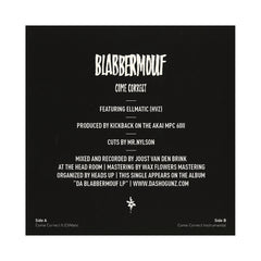 "BlabberMouf - 'Come Correct' [(Black) 7"" Vinyl Single]"