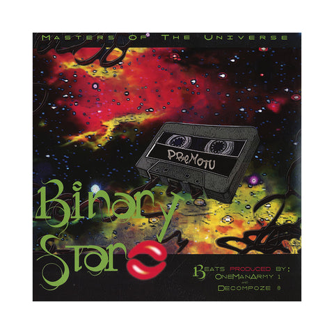 Binary Star - 'Masters Of The Universe (ALL PRE-ORDERS CLAIMED)' [(Black) Vinyl [2LP]]