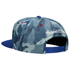 <!--020140819065397-->Mitchell & Ness x NBA - 'Los Angeles Clippers - Denim Camo' [(Blue) Snap Back Hat]