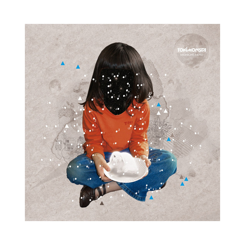 TOKiMONSTA - 'Midnight Menu' [(Blue & Orange Split) Vinyl LP]