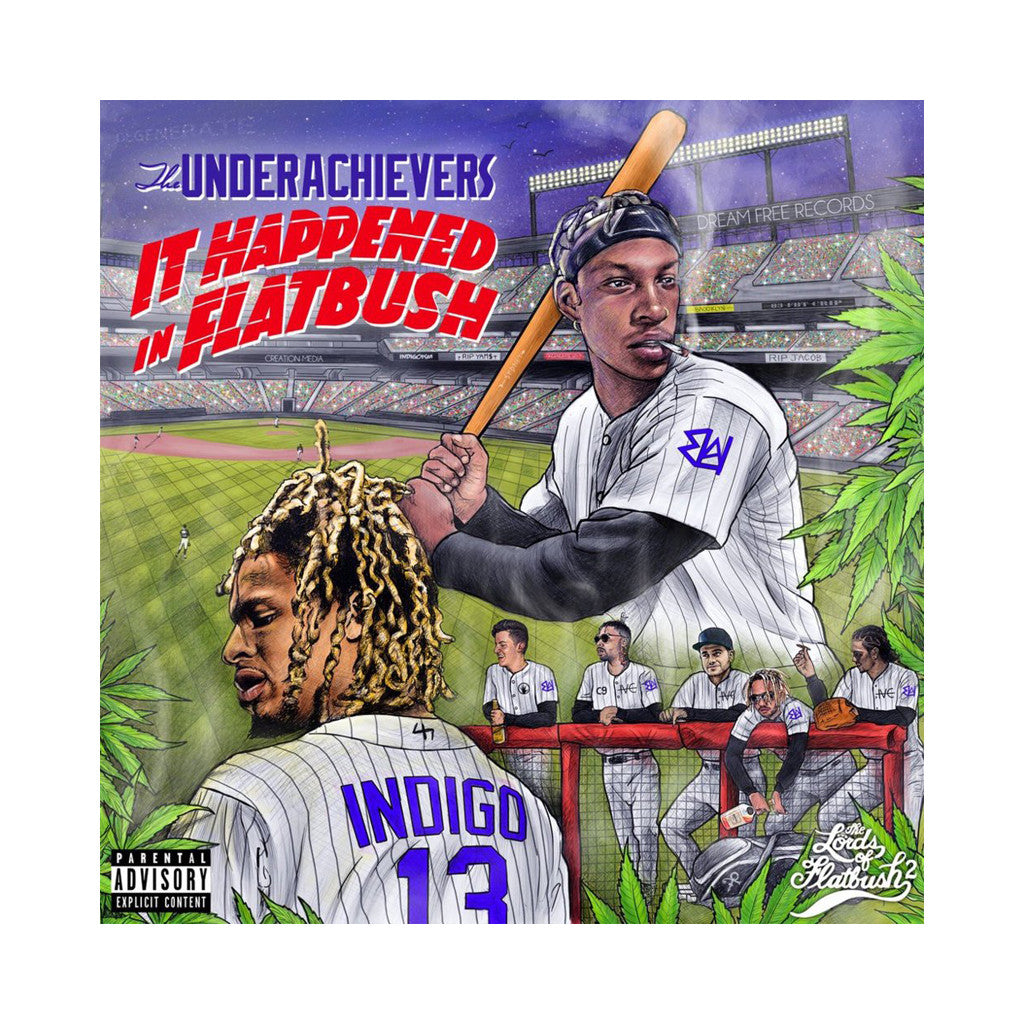 The Underachievers - 'It Happened In Flatbush' [(Black) Vinyl LP]