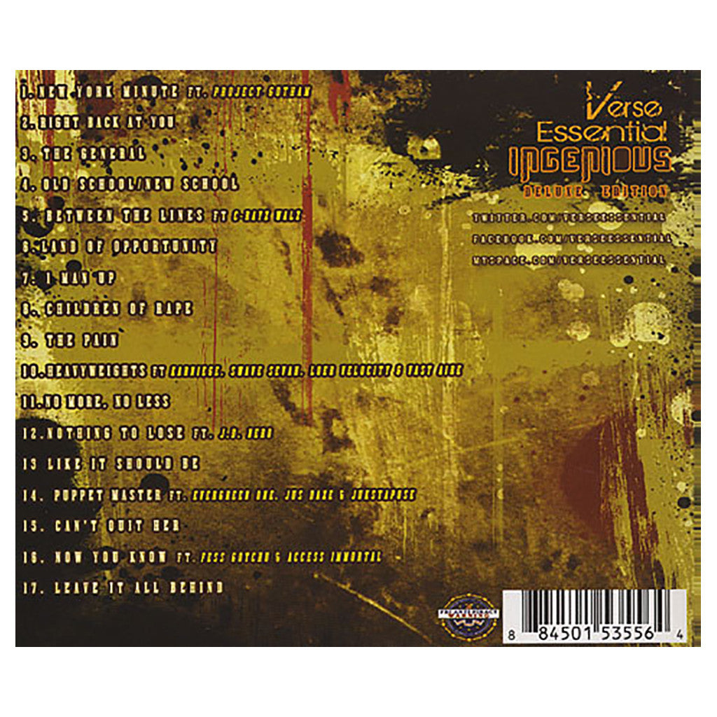 <!--020110531031268-->Verse Essential - 'Ingenious (Deluxe Edition)' [CD]