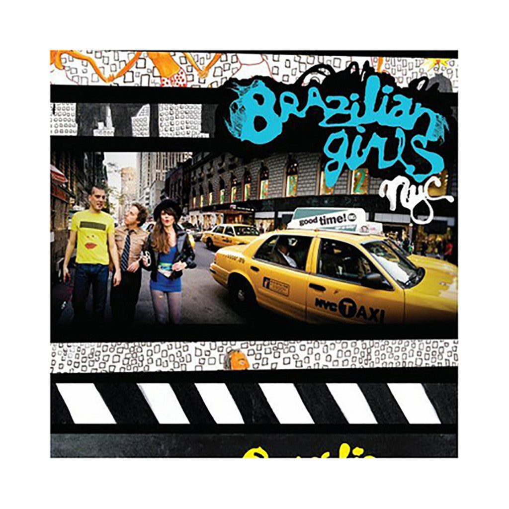 <!--2008072911-->Brazilian Girls - 'New York City' [CD]