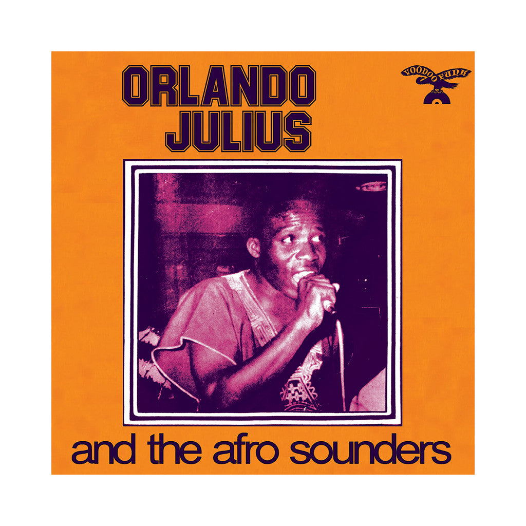 <!--2011021537-->Orlando Julius And The Afro Sounders - 'Orlando Julius And The Afro Sounders' [(Black) Vinyl LP]
