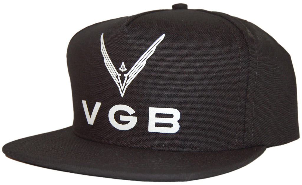 <!--020110705032023-->VGB - 'Logo Trucker' [(Black) Snap Back Hat]