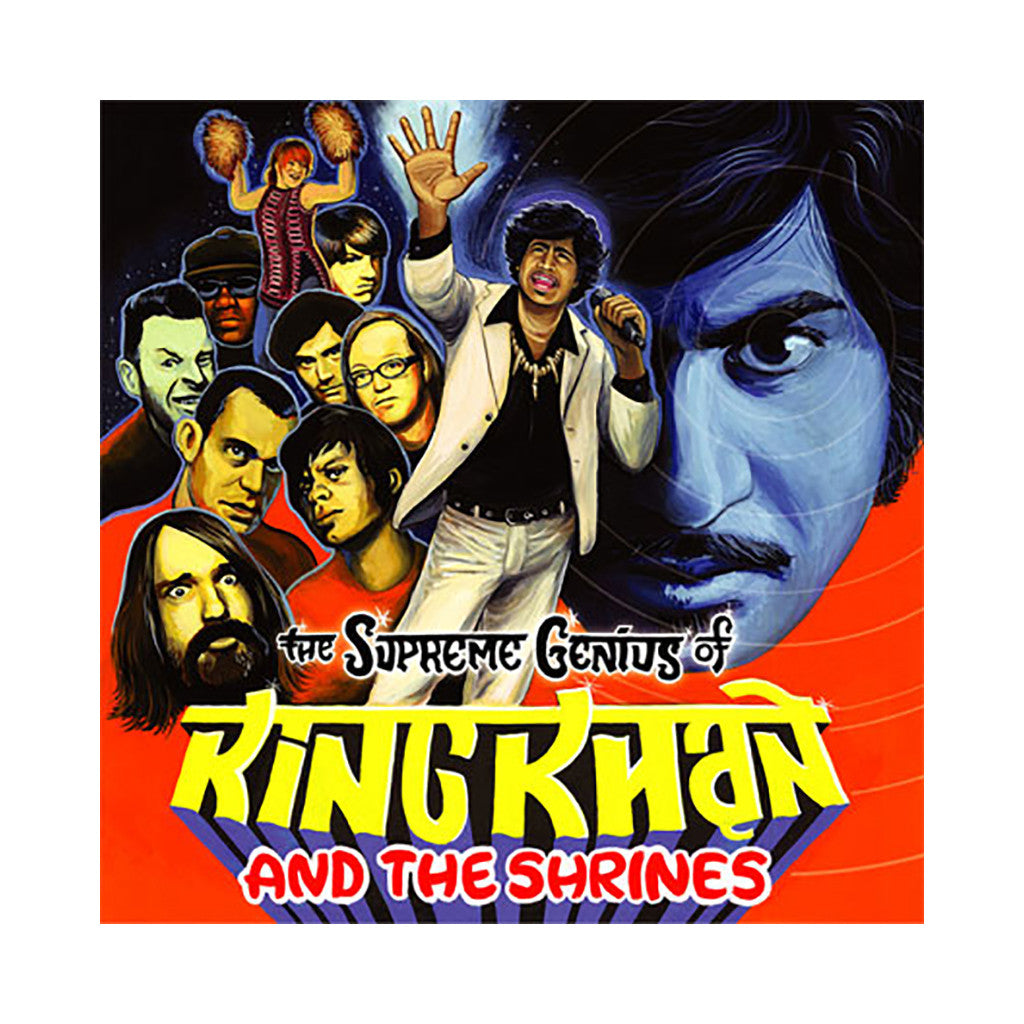 King Khan & The Shrines - 'The Supreme Genius Of King Khan & The Shrines' [(Black) Vinyl [2LP]]