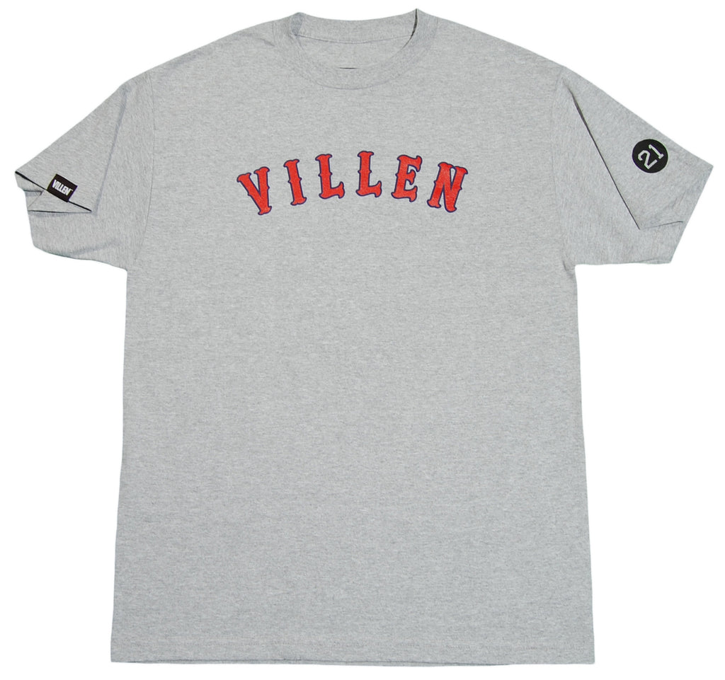 <!--2012090435-->VILLEN - 'Field Crashers' [(Gray) T-Shirt]