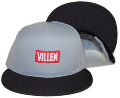 VILLEN - 'Logo' [(Light Gray) Snap Back Hat]