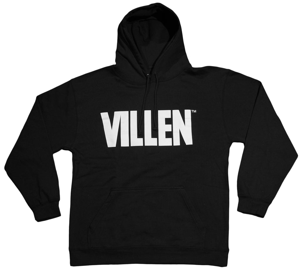 <!--2012112019-->VILLEN - 'Logo' [(Black) Hooded Sweatshirt]