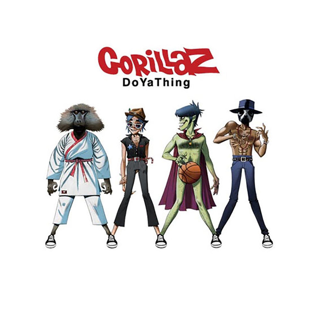 "<!--020120424043036-->Gorillaz - 'Do Ya Thing' [(Black) 10"" Vinyl Single]"