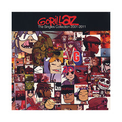 <!--020111129036927-->Gorillaz - 'The Singles Collection: 2001-2011' [(Black) Vinyl [2LP]]