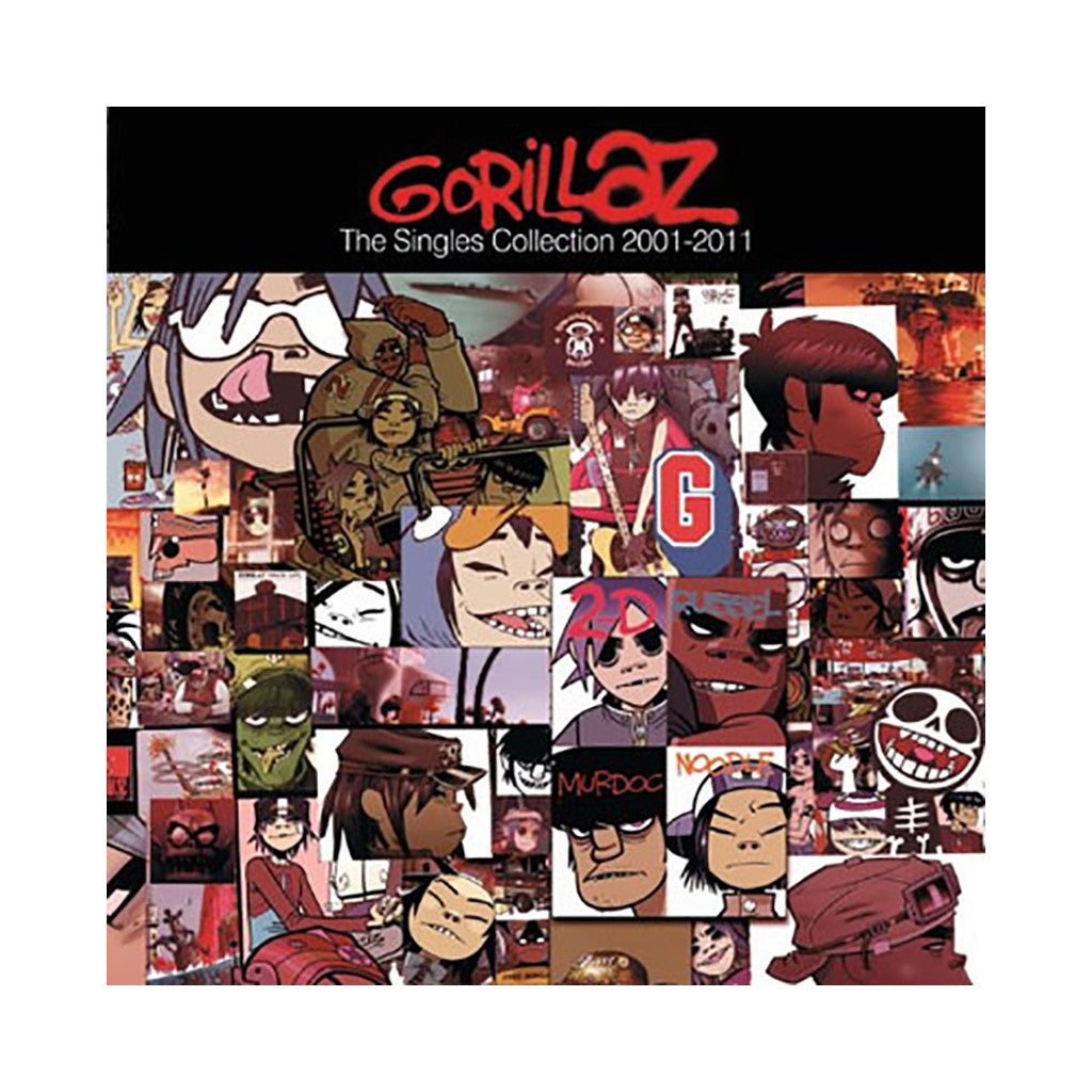 Gorillaz - 'The Singles Collection: 2001-2011 (Deluxe Edition)' [CD]