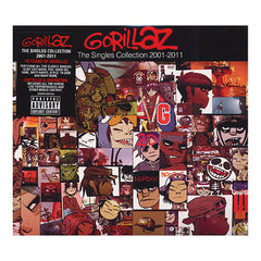 <!--020111129036929-->Gorillaz - 'The Singles Collection: 2001-2011' [CD]