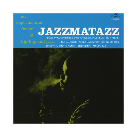 "[""Guru - 'Jazzmatazz Vol. 1 (Re-Issue)' [(Black) Vinyl LP]""]"