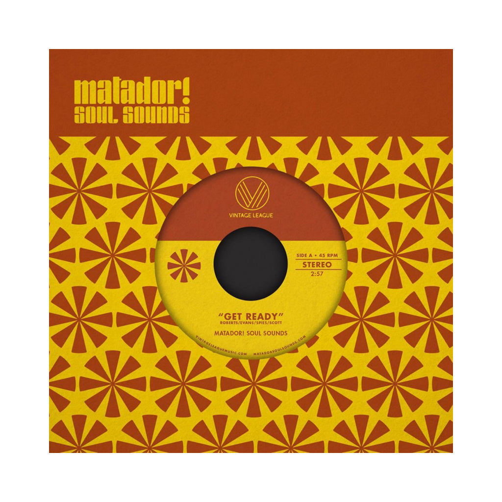 "Matador! Soul Sounds - 'Get Ready/ Mr. Handsome' [(Black) 7"" Vinyl Single]"