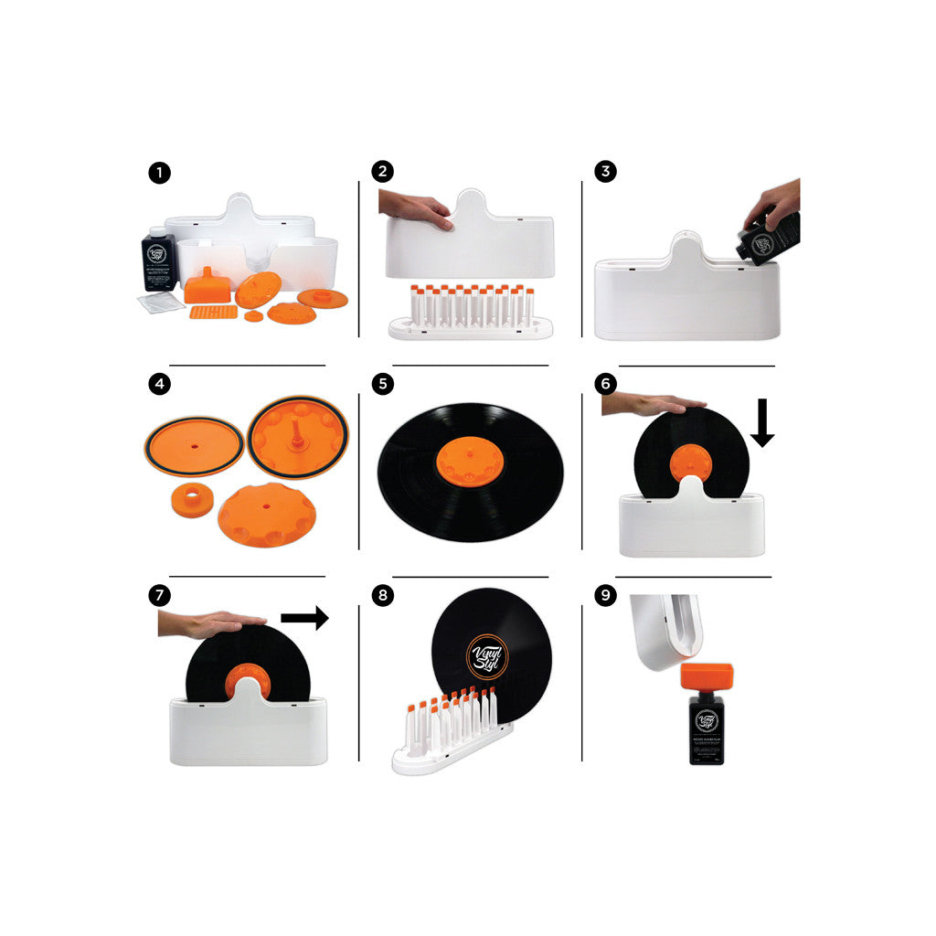 Vinyl Styl - 'Deep Groove Record Washer System' [Cleaning Tool]
