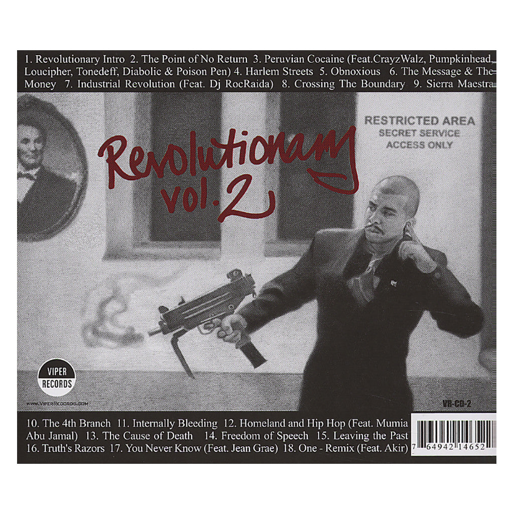 <!--120030812012120-->Immortal Technique - 'Revolutionary Vol. 2' [CD]