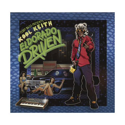 Kool Keith w/ Teddy Bass - 'El Dorado Driven' [CD]