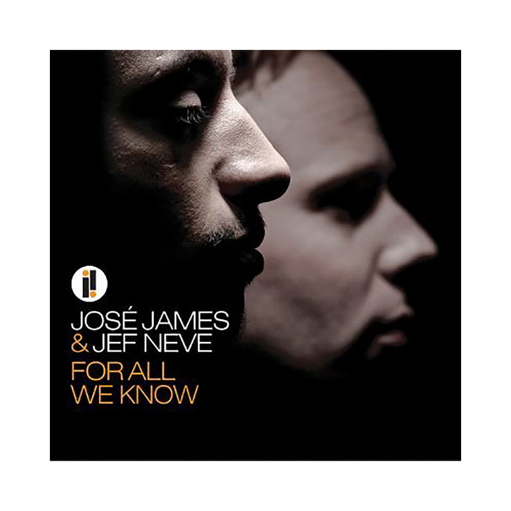 <!--020100511002776-->Jose James & Jef Neve - 'For All We Know' [CD]