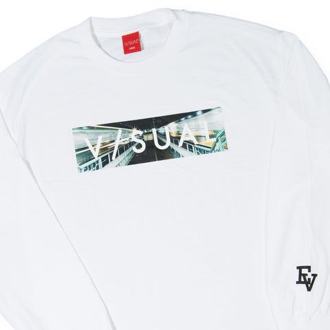 V/SUAL x Evidence - 'Clone' [(White) Long Sleeve Shirt]
