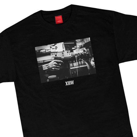 V/SUAL x 13th Witness - 'Stick Up' [(Black) T-Shirt]