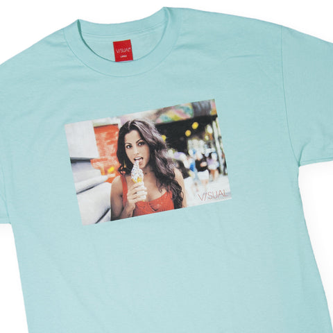 V/SUAL - 'Frosty' [(Light Green) T-Shirt]