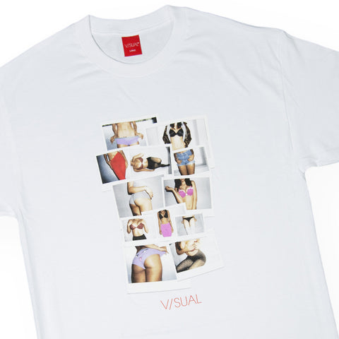 V/SUAL - 'Polaroids' [(White) T-Shirt]