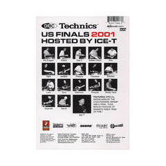 <!--020020101006650-->DMC & Technics (Hosted By: Ice-T) - '2001 US DJ Championship Finals' [DVD]