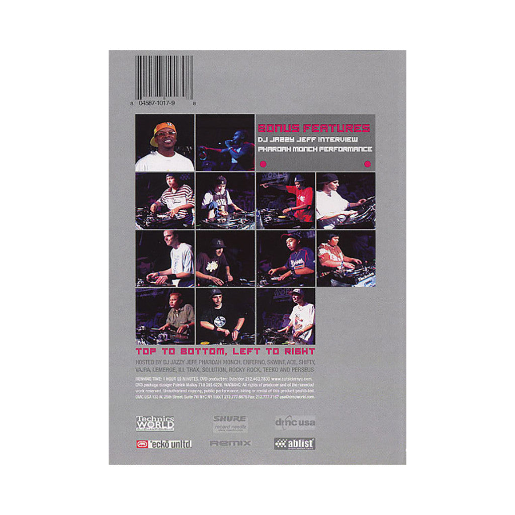 <!--020040101006651-->DMC & Technics (Hosted By: DJ Jazzy Jeff) - '2003 US DJ Championship Finals' [DVD]