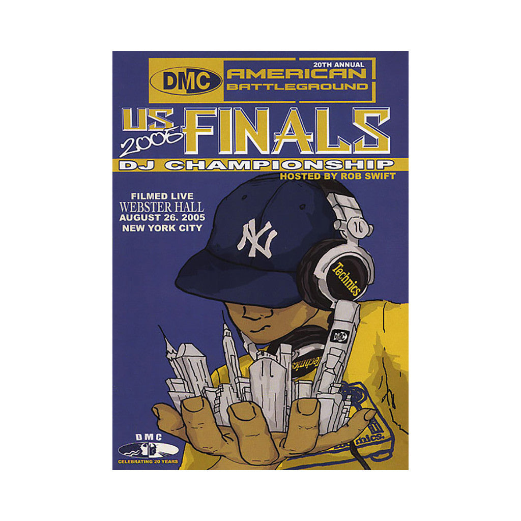 <!--020060131003737-->DMC & Technics (Hosted By: Rob Swift) - '2005 US DJ Championship Finals' [DVD]