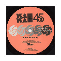 "Stac - 'Balls Bounce (Bonobo Remix)/ Balls Bounce' [(Black) 7"" Vinyl Single]"