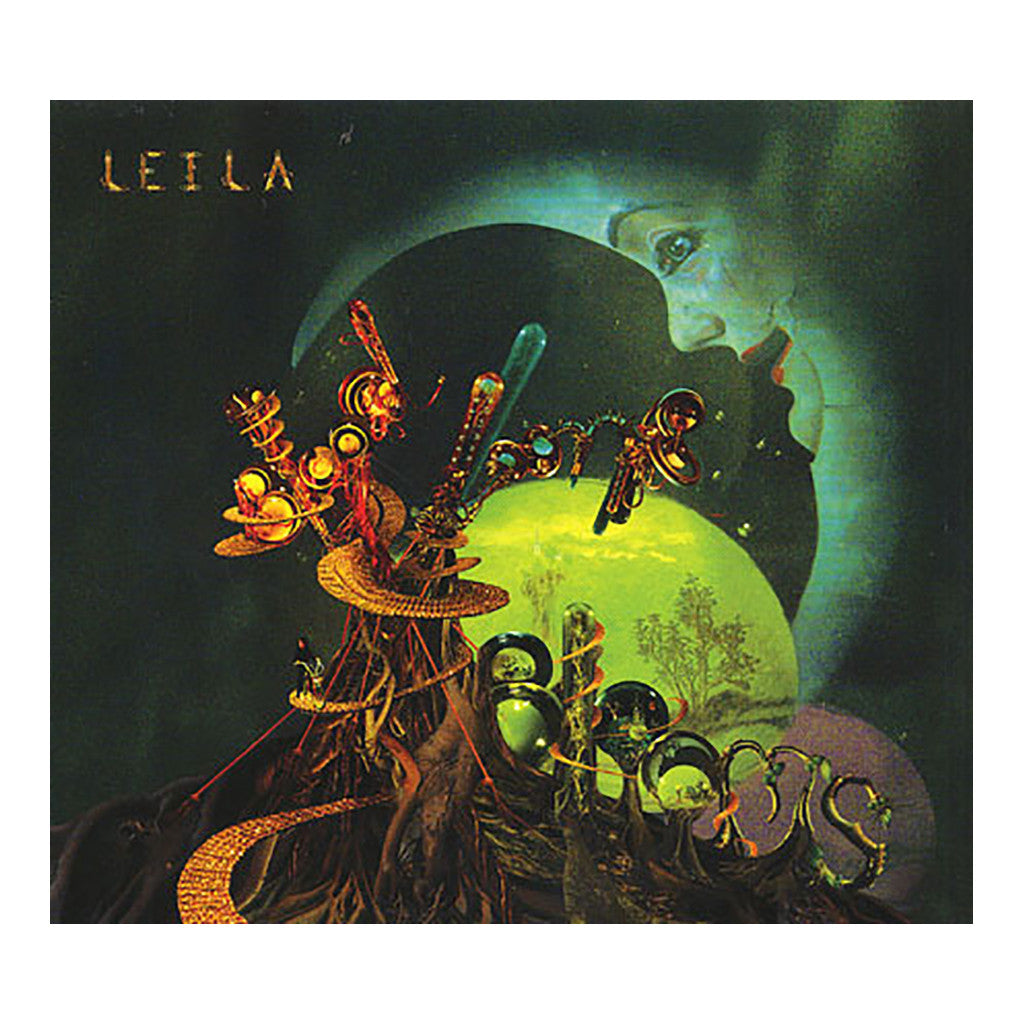 Leila - 'Blood, Looms & Blooms' [CD]