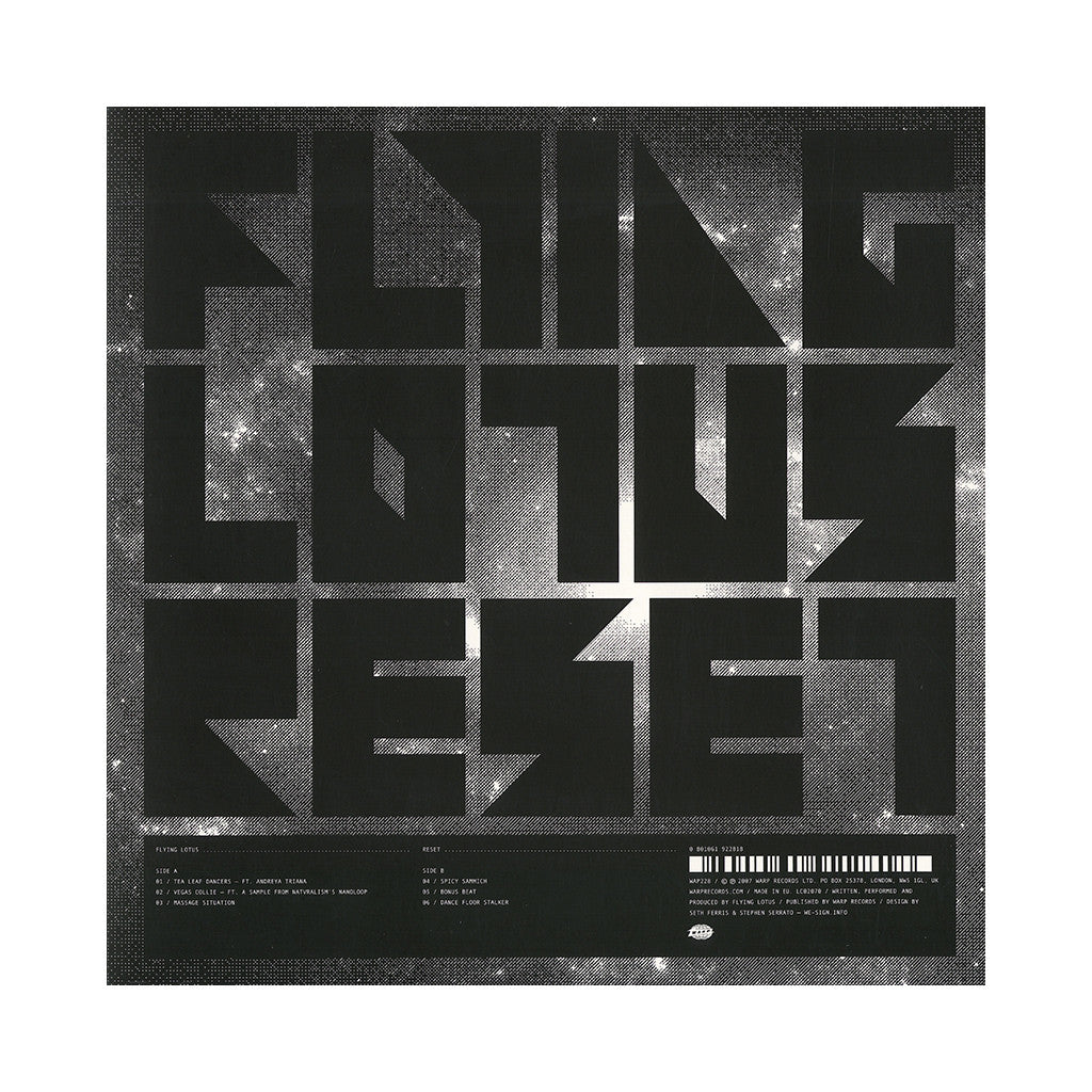 Flying Lotus - 'Reset' [(Black) Vinyl EP]