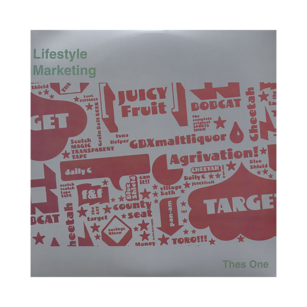 Thes One - 'Lifestyle Marketing' [CD [2CD]]