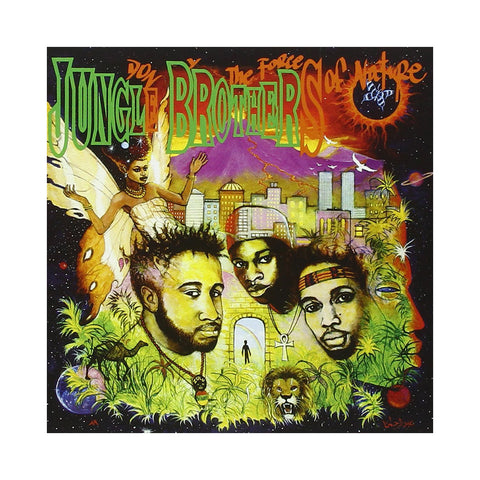 "[""Jungle Brothers - 'Done By The Forces Of Nature' [(Black) Vinyl [2LP]]""]"