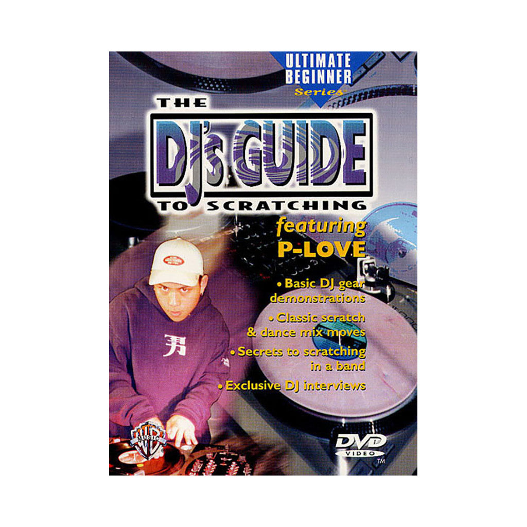 <!--020020101006288-->P-Love - 'DJ's Guide To Scratching' [DVD]