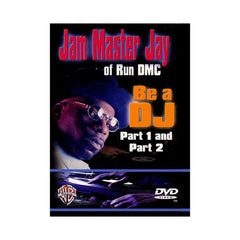 <!--020020101006298-->Jam Master Jay - 'Be A DJ: Part 1 & 2' [DVD]