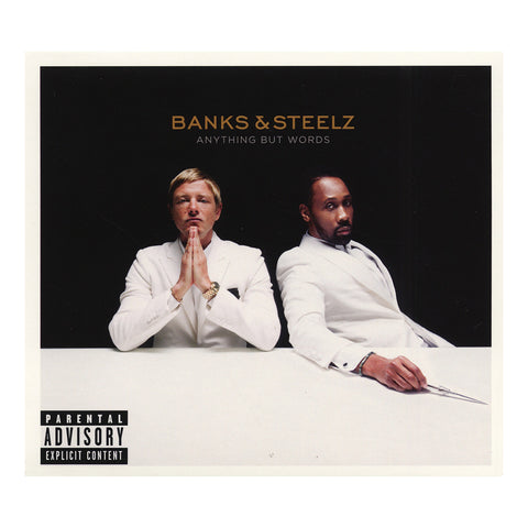 Banks & Steelz - 'Anything But Words' [CD]