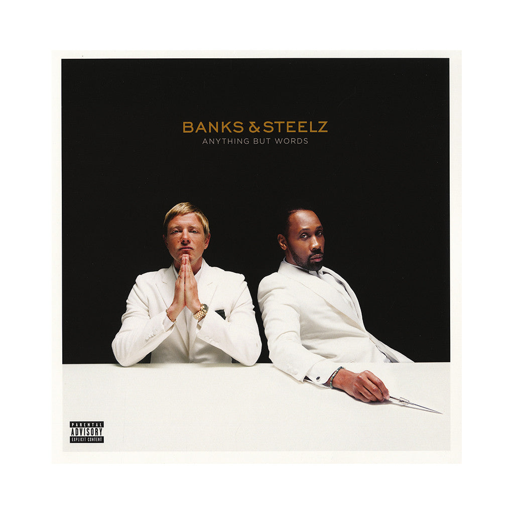 Banks & Steelz - 'Anything But Words' [(Black) Vinyl [2LP]]