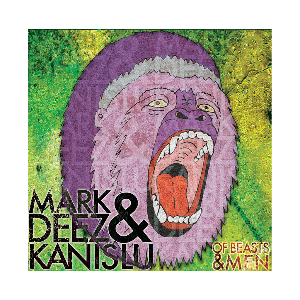 <!--120140107061519-->Mark Deez & Kanis Lu - 'Of Beasts & Men' [CD]