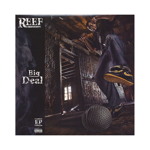 Reef The Lost Cauze - 'Big Deal/ I Wonder/ King & The Cauze/ Hit Em Up/ Big Deal (Remix) (Big Deal EP)' [(Black) Vinyl EP]