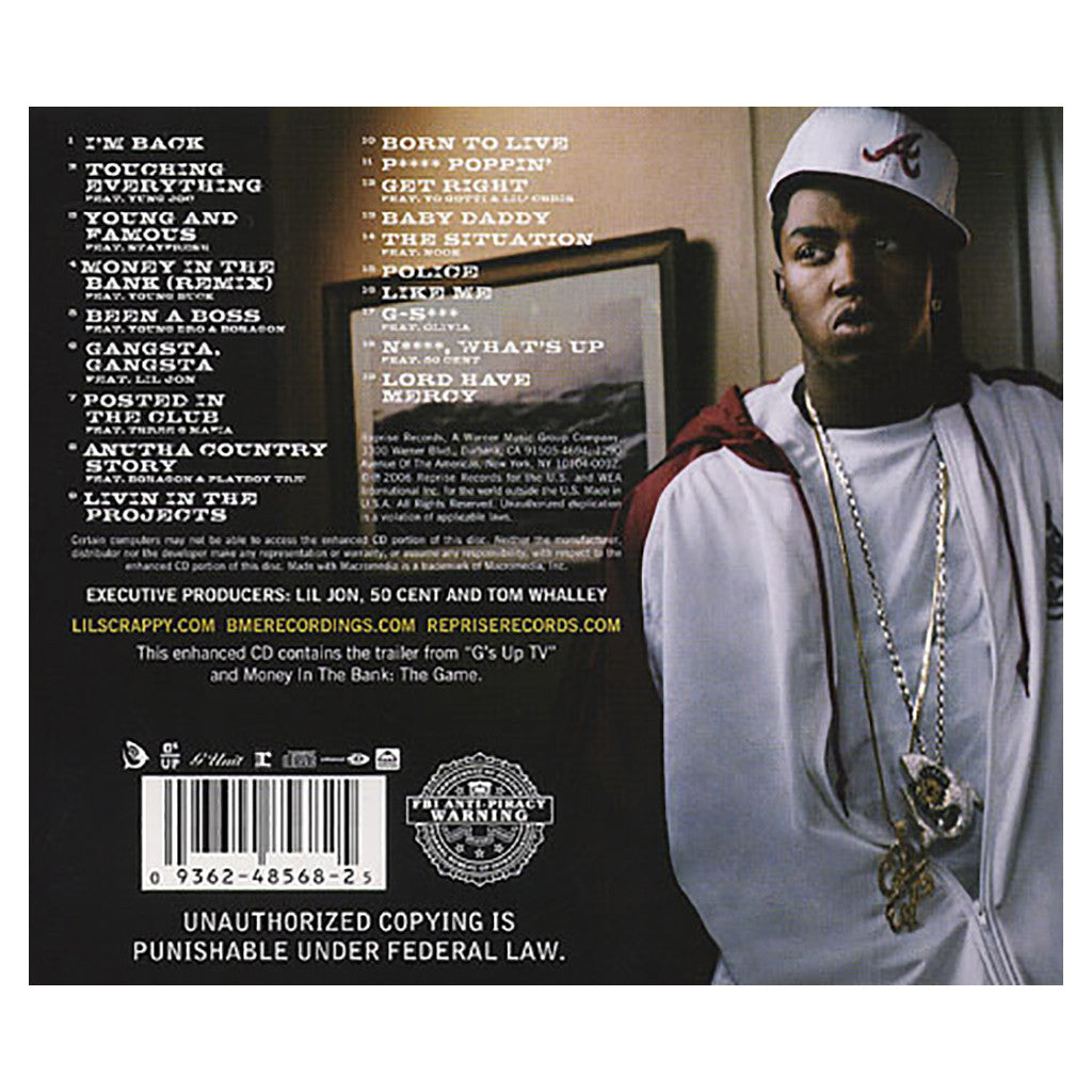 <!--020061212008840-->Lil' Scrappy - 'Bred 2 Die Born 2 Live' [CD]