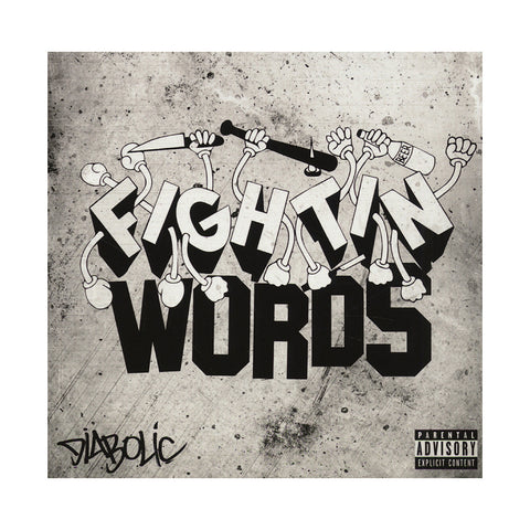 Diabolic - 'Fightin' Words (CLEARANCE PRICED!)' [CD]