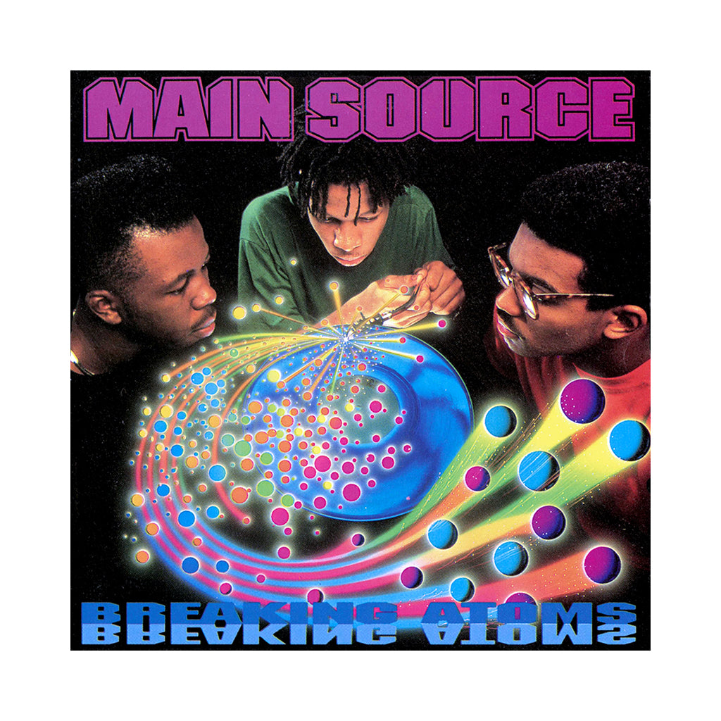 Main Source - 'Breaking Atoms (The Remaster)' [(Black) Vinyl [2LP]]
