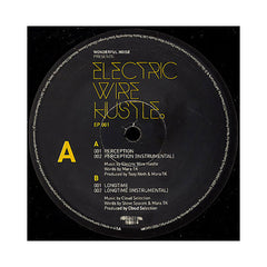 "<!--020090317016428-->Electric Wire Hustle - 'Perception/ Longtime' [(Black) 12"" Vinyl Single]"