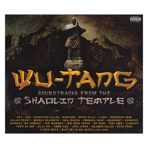 "[""Wu-Tang Clan - 'Soundtracks From The Shaolin Temple' [CD]""]"