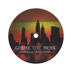 "Nickodemus - 'Gimme The Music/ New York Minute' [(Red) 7"" Vinyl Single]"